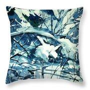 Watercolor4586 Throw Pillow
