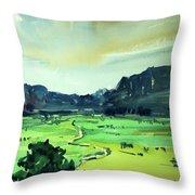 Watercolor4612 Throw Pillow