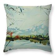 Watercolor5498 Throw Pillow