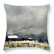 Watercolor7232 Throw Pillow