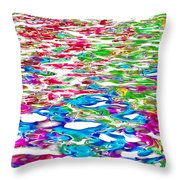 Watercolors Throw Pillow