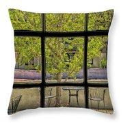 Watercolors Of The Garden Throw Pillow