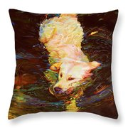 Waterdance Throw Pillow
