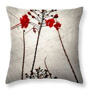 Watered Down Memories Throw Pillow