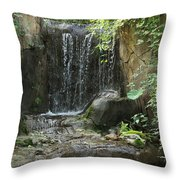Waterfall 1 Throw Pillow