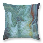 Waterfall Angel Throw Pillow