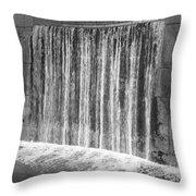 Waterfall Backdrop Throw Pillow