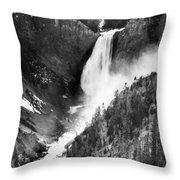 Waterfall, C1900 Throw Pillow