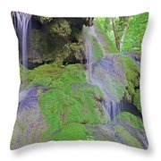 Waterfall Details Throw Pillow