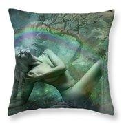 Waterfall Dreams Throw Pillow