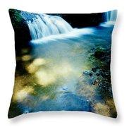Waterfall Hilo Hi Throw Pillow
