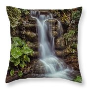 Waterfall In The Opryland Hotel Throw Pillow