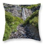 Waterfall Love Throw Pillow