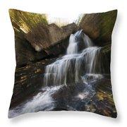 Maine Waterfall Throw Pillow