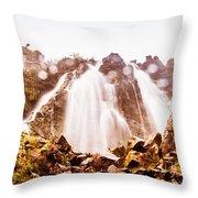 Waterfall Scenics  Throw Pillow