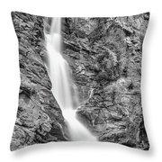 Waterfall Study 1 Throw Pillow