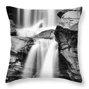 Waterfall Study 3 Throw Pillow