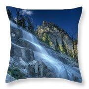 Waterfall Trail Throw Pillow