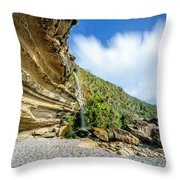 Waterfall, Truman Track Throw Pillow