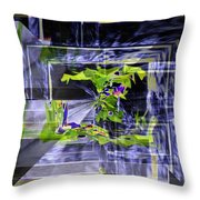 Waterfall Vortex Throw Pillow