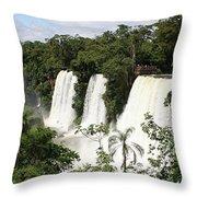 Waterfall Wonderland Throw Pillow