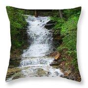 Waterfall#1 Throw Pillow