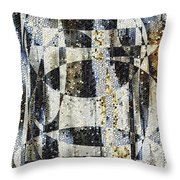 Waterfalling Throw Pillow
