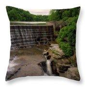 Waterfalls Cornell University Ithaca New York 08 Vertical Throw Pillow