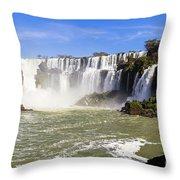 Waterfalls Wall Throw Pillow