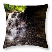 waterfallScoop Throw Pillow