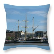 Waterford Harbour July 2011 Throw Pillow