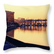Waterfront Deep Throw Pillow