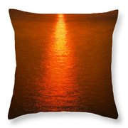 Waterfront Sunrise Throw Pillow
