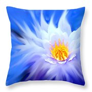 Waterlillies Transformed Throw Pillow