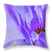 Waterlily Dreams Throw Pillow
