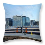 Waterloo Station Throw Pillow