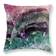 Watermelon Crystal Throw Pillow