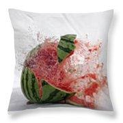 Watermelon Progression Throw Pillow