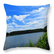 Water's Touch Throw Pillow