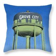 Watertower Grove City Throw Pillow
