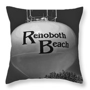Watertower Of Reho Throw Pillow