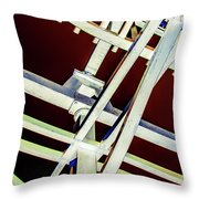 Waterwheel #2 Throw Pillow