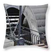 Waterwheel Detail Throw Pillow