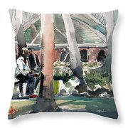 Waterwork Throw Pillow