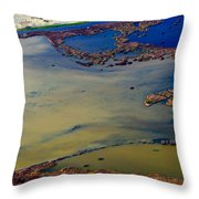 Waterworks 10 Throw Pillow