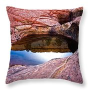Watery Portal Throw Pillow