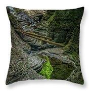 Watkins Glen State Park New York_dsc9599_16 Throw Pillow