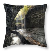 Watkins Glen 1 Throw Pillow