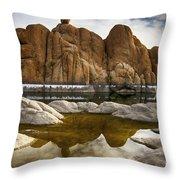 Watson Lake Arizona 11 Throw Pillow