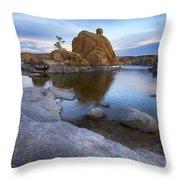 Watson Lake Arizona 14 Throw Pillow